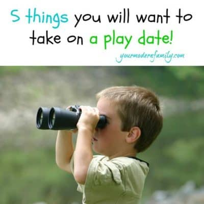 5 things you want on a play date