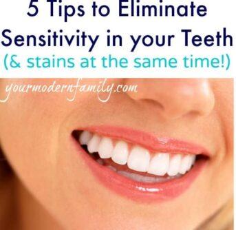 5 tips to eliminate sensitivity in teeth
