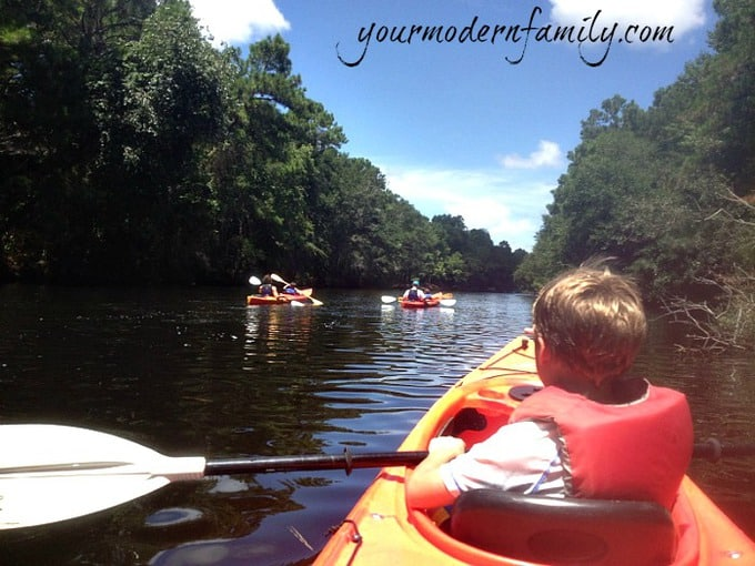 Kayaking tips for kids (taking them for the first time)