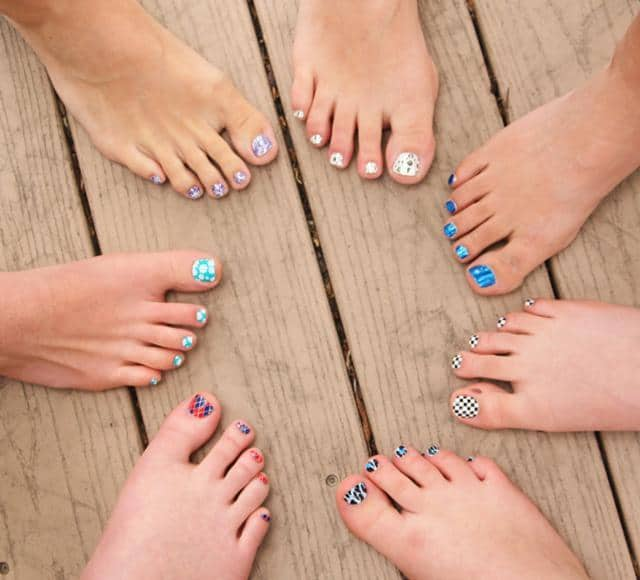 Jamberry Nails toes_full