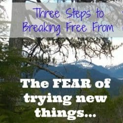 break free from fear