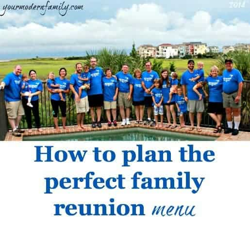 Family Reunion Ideas >> How To Plan The Perfect Family Reunion Menu