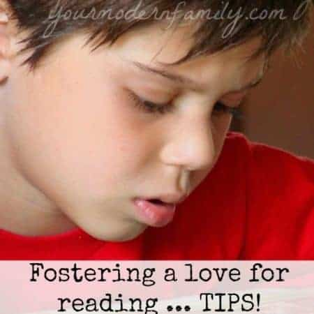 foster a love for reading