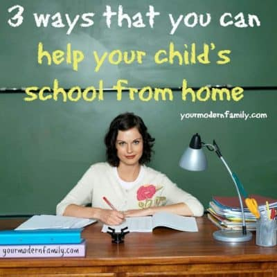 help your child's school from home