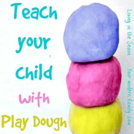 teach your child with play dough