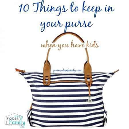 10 things to keep in your purse