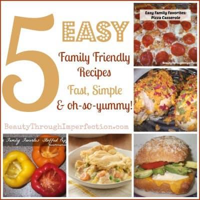 5-Easy-Family-Recipes