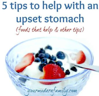 5 tips to help with an upset stomach