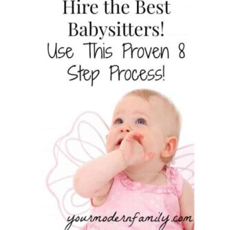 8 steps to the perfect babysitter