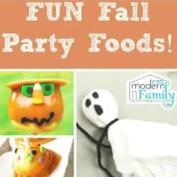 FUN FALL PARTY FOODS THAT YOUR KIDS WILL LOVE!