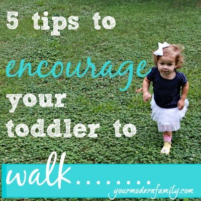 encourage your toddler to walk