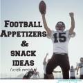 football snack ideas (easy!)
