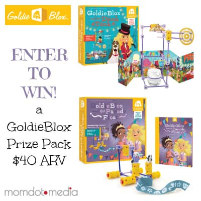 win this Goldieblox giveaway!