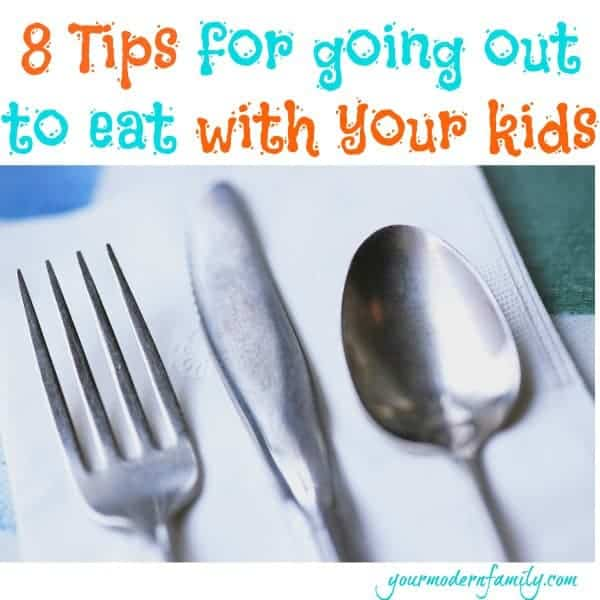out to eat w your kids - great ideas!
