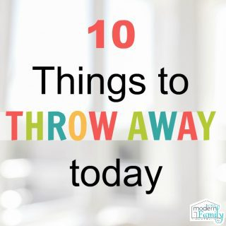 Top 10 things to throw away