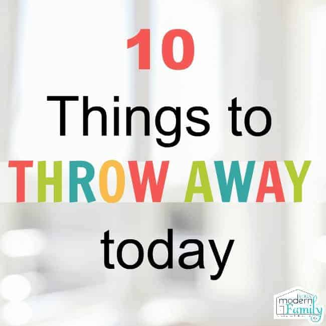 throw away