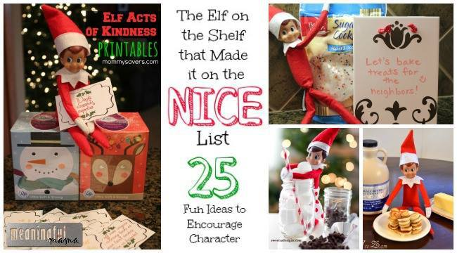 pin for elf on the shelf nice list