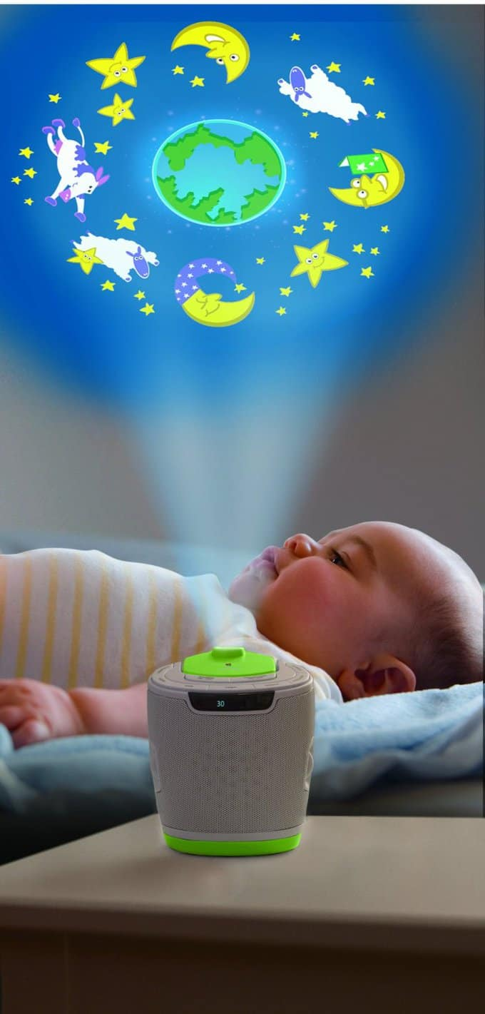 noise machine projector