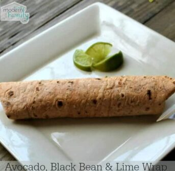 Avocado-Black-Bean-Lime-Wrap-CLEAN-EATING-