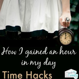 How I gained an hour in your day {Time Hack}