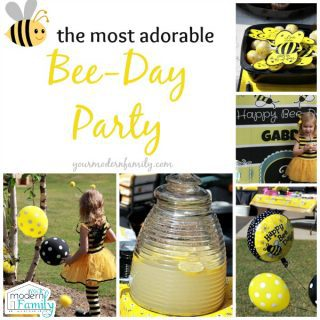Bee-day party – birthday party theme that you will love!
