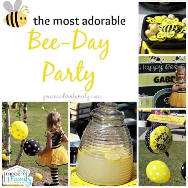 bee- day party ideas