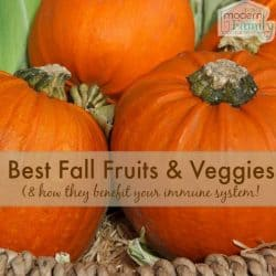 best fall fruits & veggies