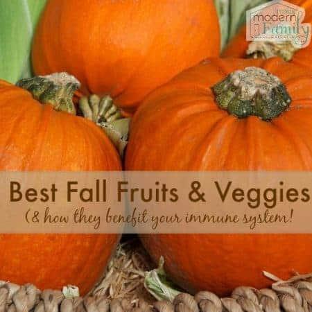 best fall fruits & veggies