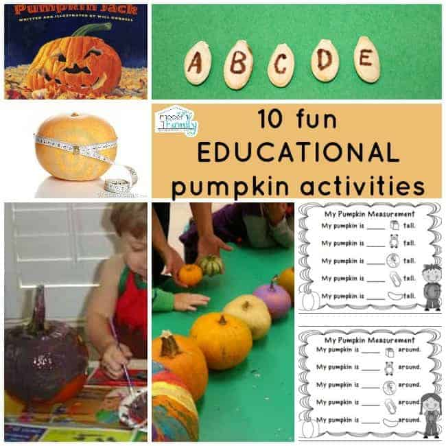 educational pumpkin activities