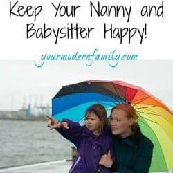 keep nanny happy