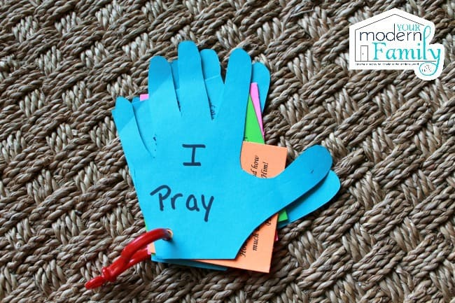 prayer hands for kids