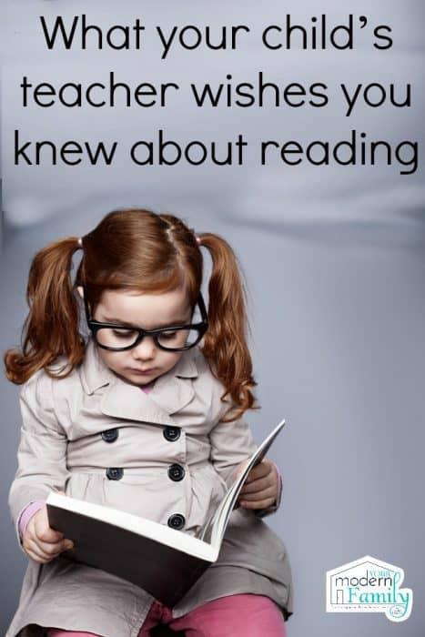 What your child's teacher wishes you knew about reading