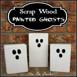 scrap wood ghosts