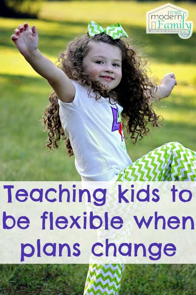 teaching kids to be flexible