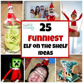 25 Funniest Elf on the Shelf Ideas for boys & girls!
