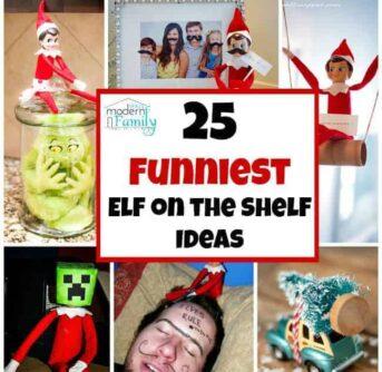 25 funniest elf on the shelf ideas
