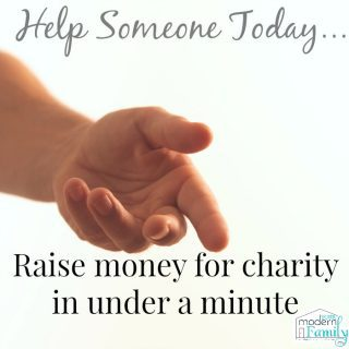 How you can raise money for charity in under a minute