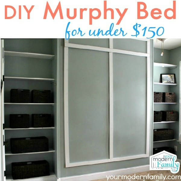 DIY WALL BED - UNDER $150