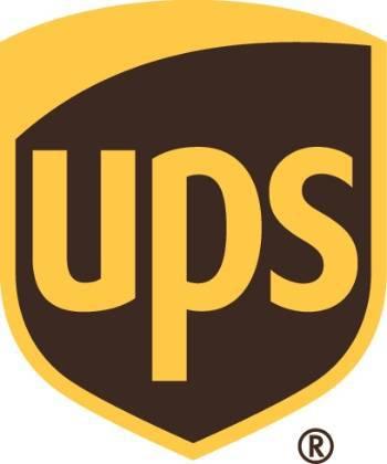 A UPS logo.