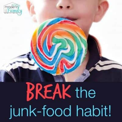 break the junk-food habit