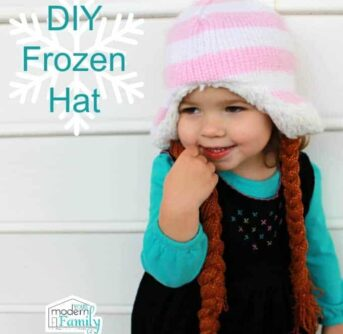 DIY Frozen Hat