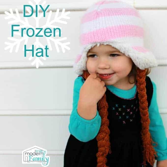 DIY Frozen Hat