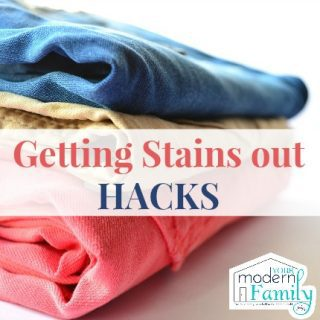 LIFE HACKS: How to get stains out of clothes