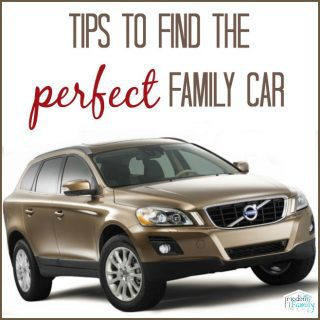 Buying a new car {with kids}