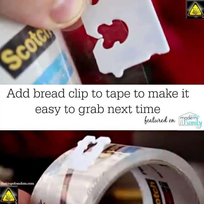 tape clip DIY
