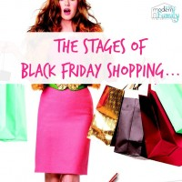 the stages of black friday shopping