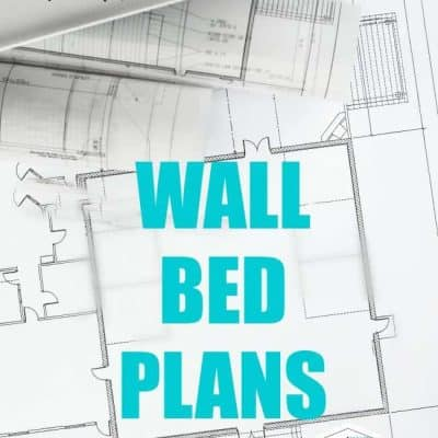 wall bed plans