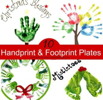 10 handprints & footprints