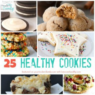 25 Healthy Cookies Recipes
