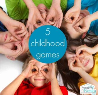 5 childhood games that require little or no materials